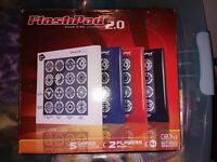 FlashPad 2.0 Touch N Go Electronic Portable - 5 Games, 1 or 2 Players - Used