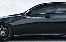 #1 TOYOTA TRD motor sports decal sticker. camry corolla prius 86 lexus IS250 NX