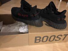 adidas Yeezy Boost 350 V2 Schwarz/Rot  EU 44 2/3 , UK 10