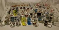 SHOT GLASS LOT COLLECTION 82 Glasses Hard Rock Cafe Planet Hollywood & MORE!