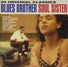 Blues Brother Soul Sister (1993) John Lee Hooker, Erma Franklin, Sam & Da.. [CD]