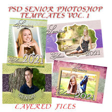 Photoshop Templates PSD for Senior Vol 1