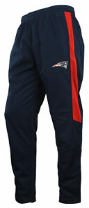 Zubaz NFL Football Men's New England Patriots Athletic Track Pant