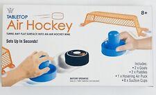 Tabletop Air Hockey Set 2 Player Puck Strikers Goals