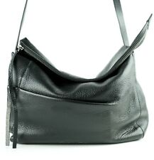 Calvin Klein Jeans Leather Crossbody Handbag Black NWT