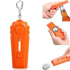Creative 2 in 1 Shoot Style Beer Bottle Opener Cap Launcher Key Ring Deft
