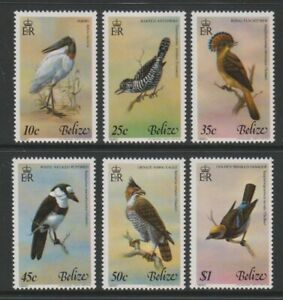 Belize - 1980, Birds, 4th series set - MNH - SG 561/6