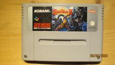 Super Castlevania IV (4) for SNES Super Nintendo. Cart Only. Pal.