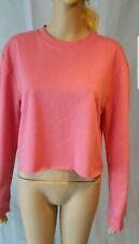 Jane Norman Cropped Slouch Sweater Jumper Pink - SIZE Medium 10 to 12 - RRP: £18