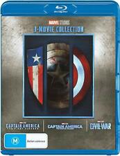 Captain America Trilogy Collection First Avenger/Winter Soldier/Civil War Bluray