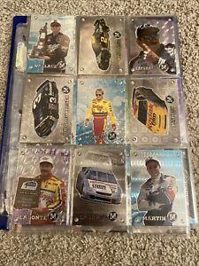 1996 Press Pass M Force Complete Racing 45 Card Set w Earnhardt Gordon 🏁