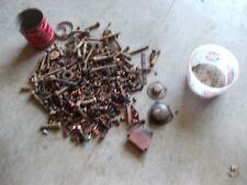 Farmall Cub M H Tractor Ih Ihc Box Of Bolts Amp Parts Nuts Pieces Covers Cap