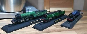 Model Steam Locomotives 6023, 4472, 21C151