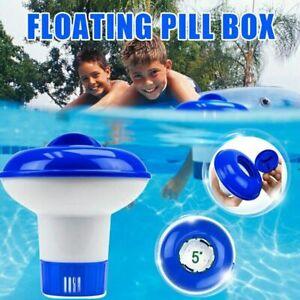 Chlorine Bromine Tablets Floating Dispenser Floater Spa Hot tub Swimming Pool