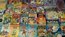 Lot 29 Pokemon Picture Books Readers Handbooks~Cond. Fair to Like New~FREE SHIP!