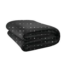 Big Blanket Co Original Stretch Blanket - Black With White Dots