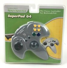 Grey SuperPad 64 Colors Controller The Classic Controller for Nintendo N64System