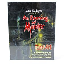 AN EVENING OF MURDER The Final Act HALLOWEEN PARTY GAME Role Play NEW Sealed