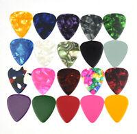 100pcs Medium 0.71mm Blank 351 Guitar Picks Plectrums Celluloid