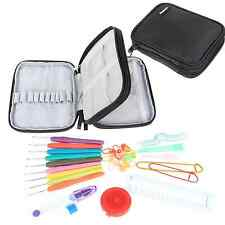 Damero Ergonomic Crochet Hook Set - With Organizer Case and Complet/ Accessories