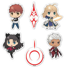 Fate Stay Night SD Sticker Set Anime Manga NEW