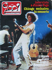 CIAO 2001 37 1979 Branduardi Chicago Jimmy Page Knack Orme Blue Oyster Cult