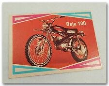 HARLEY-DAVIDSON BAJA 100 VINTAGE TRAIL BIKE RACER MOTORCYCLE TRADING CARD