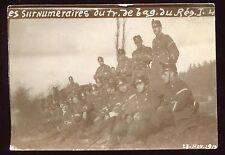 Guerre 1914-1918. Suisse . Les Surnuméraires . photo originale