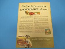 Good Year Tires, New?  More than 4,200,000,000,000 miles old!,Print Ad PA007