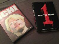 1 BOX DVD FILM CULT MOVIE TAKASHI MIIKE-ICHI THE KILLER,SPECIAL EDITION 2 DISCHI