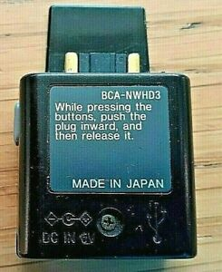 Genuine Used Sony BCA-NWHD3 USB Sync Adapter for NW-HD3 & NW-HD5