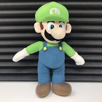 Nintendo Super Mario Bros Luigi Soft Plush