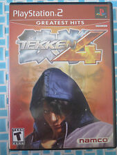 TEKKEN 4 GREATEST HITS ~ SONY PLAYSTATION 2 - PS2 - 2001