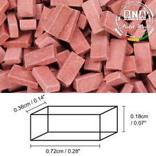 Juweela 1/35, 1/32 Bricks - Dark Brick-Red (Material: Ceramic) 500pcs