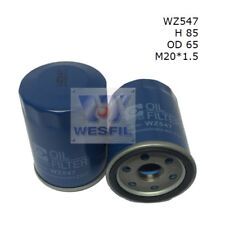 WESFIL OIL FILTER FOR Nissan Patrol 5.6L V8 2013-on WZ547