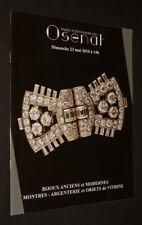 Osenat - Bijoux anciens et modernes, montres, argenterie et objets de vitrine