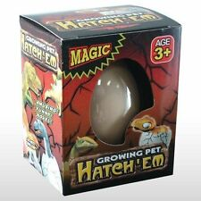 Hatch-em Hatching Dinosaur Egg 3+ Years Kids Magic Growing Pet Hatches UK SELLER