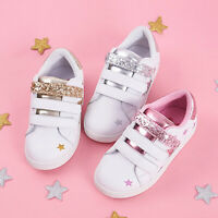 Girls Boys Toddler Canvas Shoes Sneaker Strap Little Kid Baby Soft Sole Sneakers