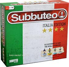 Subbuteo Conjunto de edición Italiana Fútbol Juego De Mesa Para Chicos Hombres Juguete Regalo