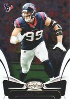 2018 Certified Football #89 J.J. Watt Houston Texans