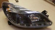 Corsa D 2006 - 2014 Drivers Side Headlight Black R8 Style - Faulty LED DRL Strip