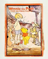 Vintage Warren Winnie the Pooh 100 PC Jigsaw Puzzle 49-63045 Walt Disney Friends
