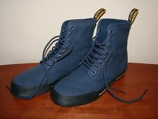 Dr. Martens Air Wair Winsted Canvas Boots Men's Size 8 - Indigo/Blue/Navy