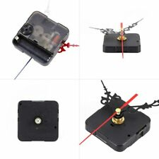 Quartz Movement Mechanism Silent Clock Black and Red Hands DIY Part Kit Tool set