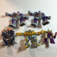 Hasbro Transformers 5 Action Figures Cake Topper Lot Rescue Bots, Bakery Craft