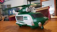 2001 Hess Gasoline Helicopter Truck Car Collectible Car Carrier