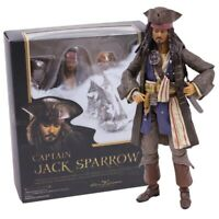 Figure PVC Action Pirates of the Caribbean Captain Jack Sparrow  Model Toy 15cm