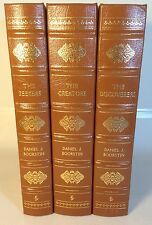 The Discoverers The Creators The Seekers, Daniel Boorstin Easton Press 3 Vol Set