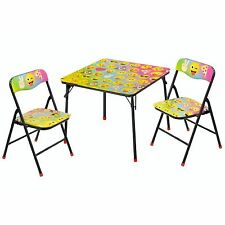 Emoji Pals Kids and Toddlers 3 Piece Table and Chairs Set