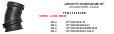 TEKNOETRE RICAMBIO MANICOTTO CARBURATORE DESTRO per YAMAHA XP T-MAX 500 2003